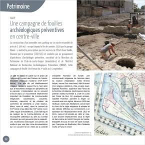 L'actualité de la Direction du Patrimoine dans L'Isle-sur-la-Sorgue – Magazine en 2018