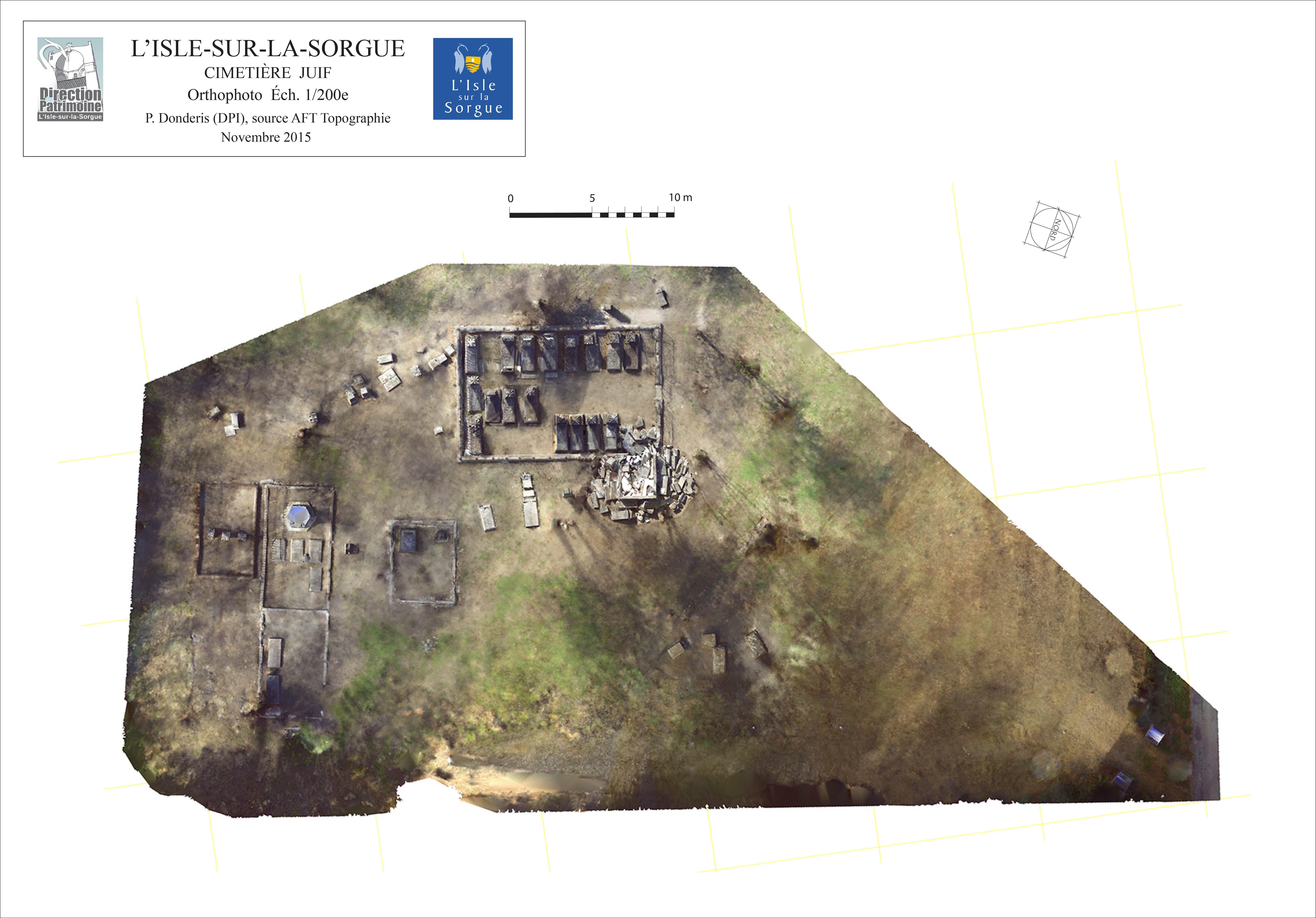 Orthophotographie du cimeitère juif - AFT Topo-01