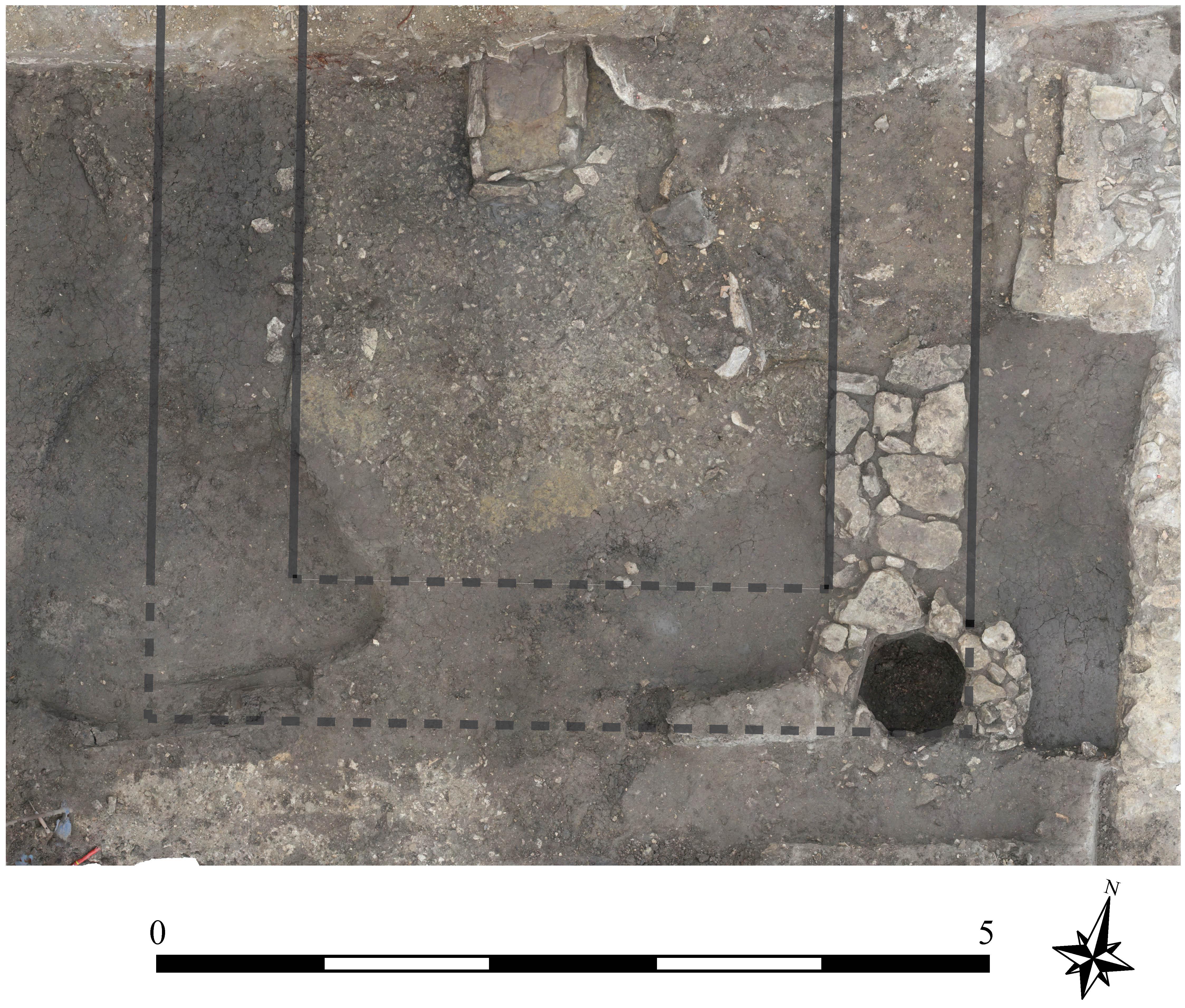 Photogrammétrie d'une des maisons les plus anciennes (XIIe-XIIIe s.) - Direction du Patrimoine