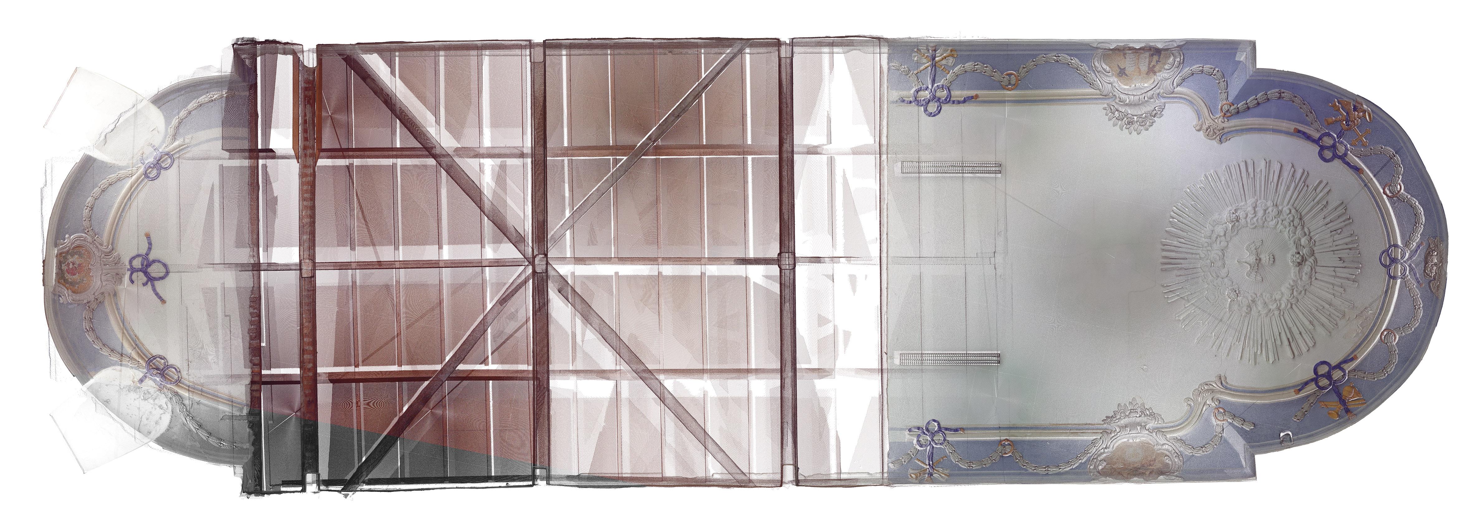 Scan 3d du plafond - NuageDePoints