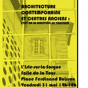 Archi-Tour 2013. Rencontres professionnelles de l'architecture et du patrimoine