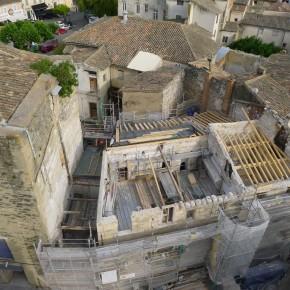 Dégagement de la Tour d'Argent et restauration du bâtiment résidentiel médiéval
