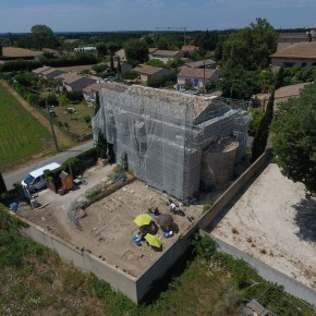 Chapelle Saint-Andéol de Velorgues: la quatrième campagne de fouille archéologique programmée (2017)