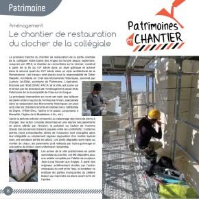 L'actualité de la Direction du Patrimoine dans L'Isle-sur-la-Sorgue – Magazine en 2015